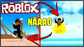 WATCH OUT FOR THAT LITTLE FOOT!!! ROBLOX ONE PIECE BIZARRE ADVENTURES!!!