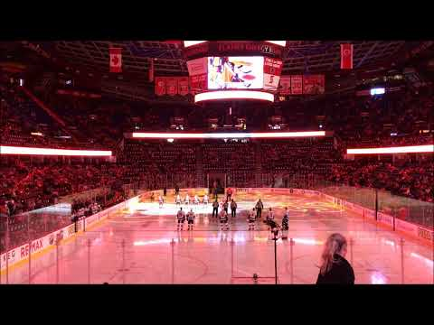 Time Lapse of Calgary Flames Game