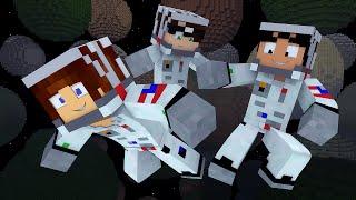 Minecraft: ASTRONAUTAS NO ESPAÇO !! - (Egg Wars Mini-Game )