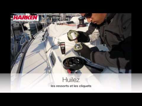 Entretien Harken Radial