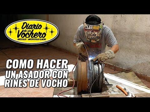 How to hacer un asador con rines de vocho youtube - Como hacer un asador ...