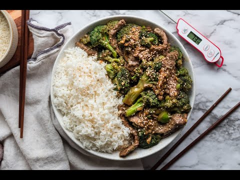Best, Speedy Beef and Broccoli - Quarantine Meals, Recipes | ThermoPro Recipes 2020