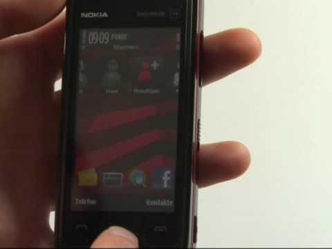 Nokia 5530 XpressMusic Test Bedienung
