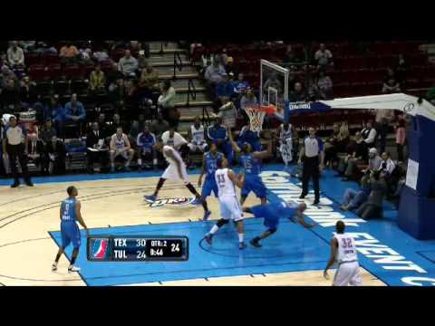 NBA D-League Highlights: Texas Legends 116, Tulsa 66ers 80, 2013-1-5