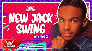 80s & 90s Throwback R&B New Jack Swing Love Mix - Dj Shinski [Tevin Campbell, Bobby Brown, SWV, TLC]