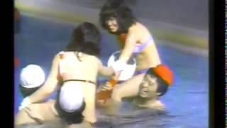 【水泳大会】騎馬戦 榊原郁恵 高田みづえ 石野真子 倉田まり子