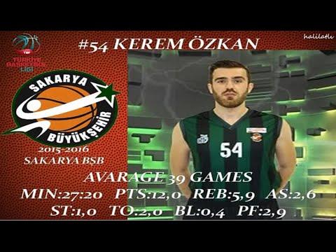 Download Kerem Özkan 2015-2016 Sakarya Büyükşehir Belediyespor TBL