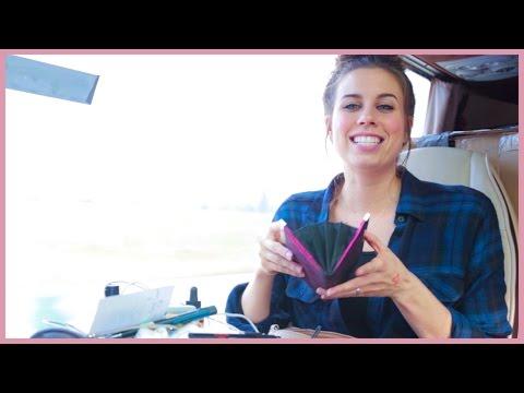 Christina Cimorelli- What's in my Bag - Cimorelli Takes Europe