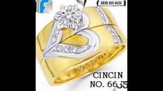 jual Cincin nikah, cincin kawin, cincin tunangan, cincin murah perak lapis emas EFBIKIOS STYLES