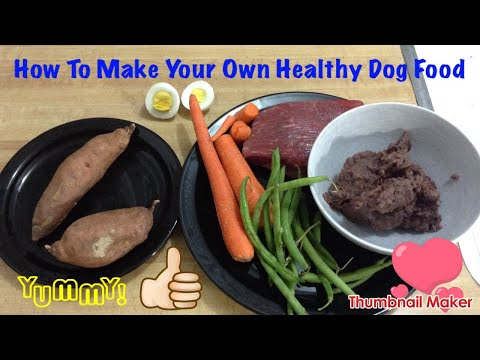 How To Make Healthy Homemade Dog Food (Using Stuff You Probably Already Have)