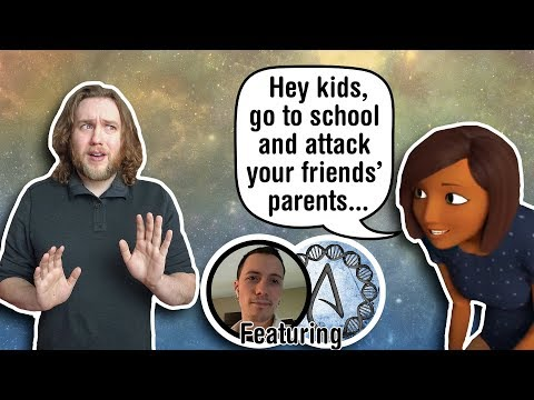 Jehovah's Witness Cartoons Tell Kids To Shame Children of LGBT Parents (Feat. Telltale)