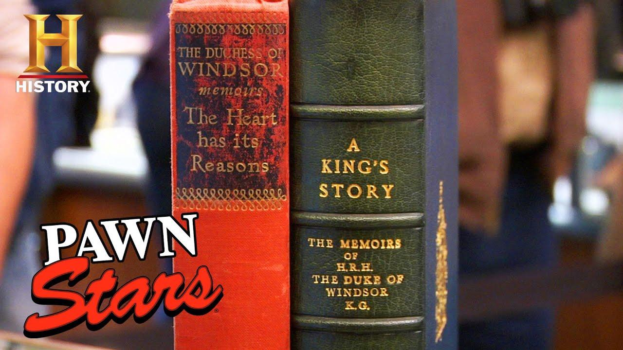 Download Pawn Stars: Rebecca's ROYAL Appraisal for ENGLISH KING'S SIGNATURE (Season 5)   History