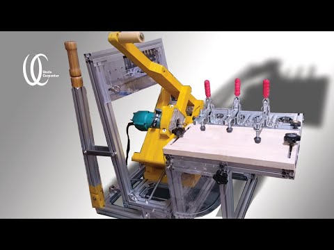 Woodworking tools : How to make homemade Pantorouter build DIY PART2