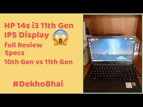 HP 14s core i3 11th Gen Review