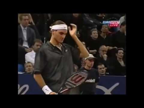 Basel Open 2001 - Roger Federer vs Andy Roddick