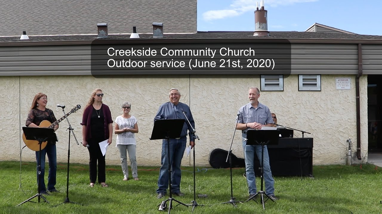 Outdoor Service (June 21st, 2020)