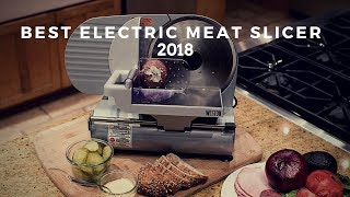 Best Electric Meat Slicer | Top Electric meat slicer 2018 (new)