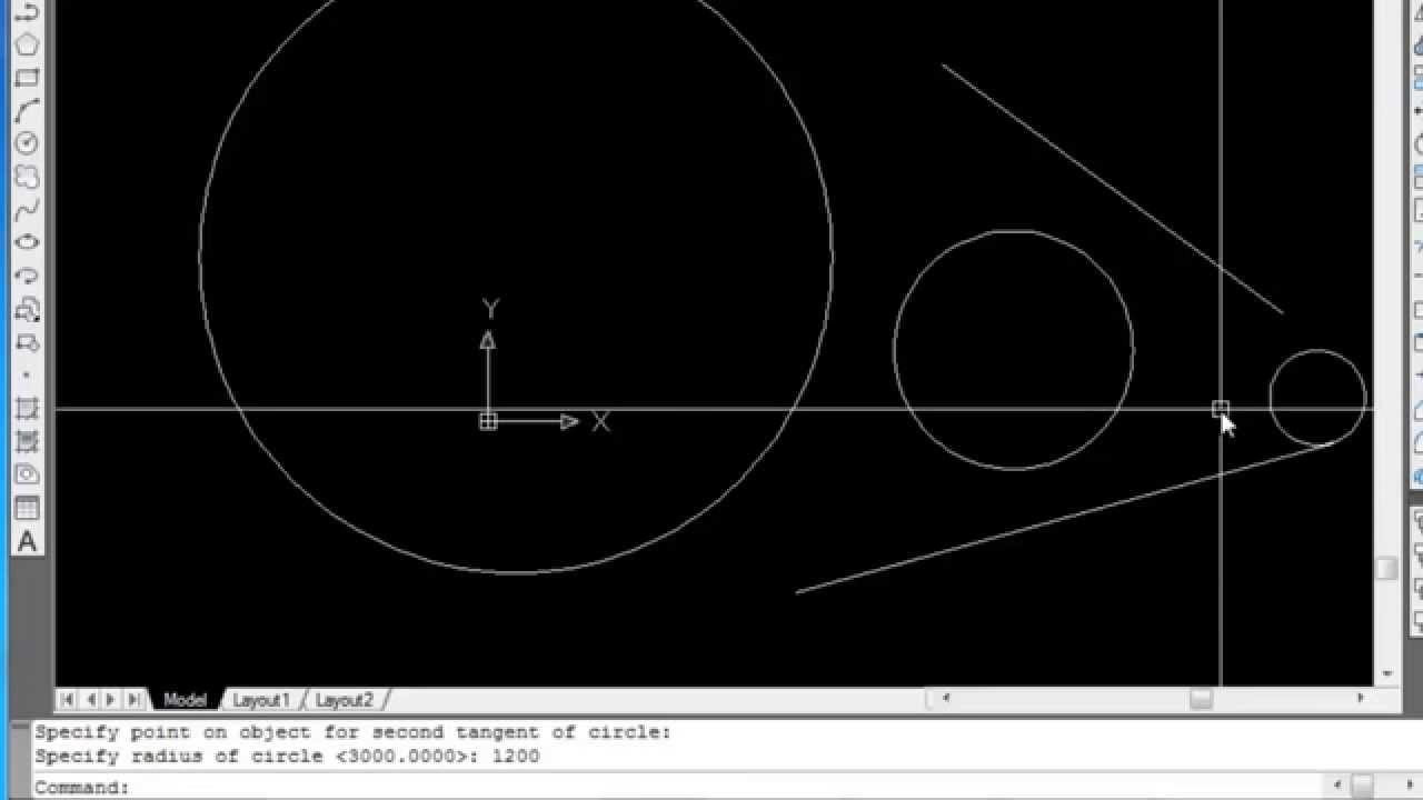 Hướng dẫn AutoCad cơ bản – Bài 3 : Cách vẽ hình sử dụng lệnh