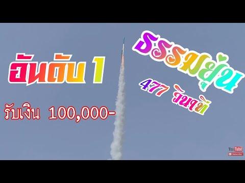 """บุญบั้งไฟแสนบ้านหนองคูน ที่1ของงาน """"ธรรมยุ่น"""" นาทีใครก็ขวางไม่อยู่ Rocket Festival[Fz300]"""