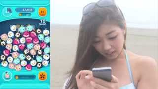人気急上昇中の美少女「あべみほ」がLINE ディズニーツムツムに挑戦。 ...