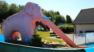Elefanten-Rutsche :: Kinder-Steilrutsche   Tosselilla Sommarland Tomelilla