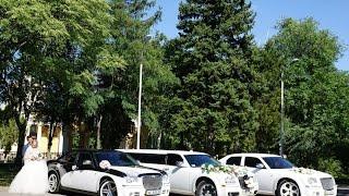 Аренда  Лимузина Chrysler 300c в Днепропетровске.(Наш лимузин Крайслер 300с и два седана Крайслер 300с на Украинско-Датской свадьбе. Заказ трех машин, седанов..., 2016-01-06T18:14:23.000Z)