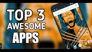 Top 3 Apps December 2018 edition / Best 3 apps for Android