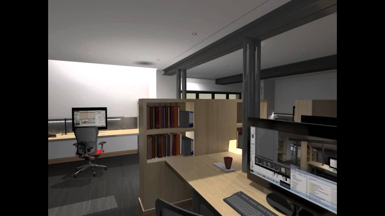 am nagement d 39 un bureau youtube. Black Bedroom Furniture Sets. Home Design Ideas