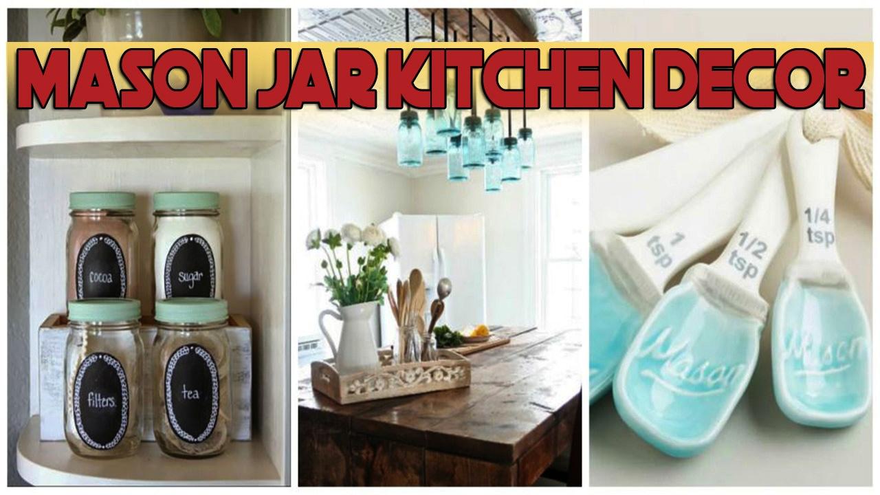 Daily decor mason jar kitchen decor