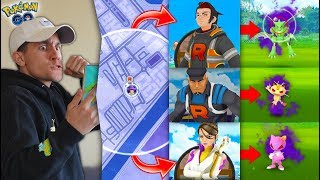 HOW TO FIND & DEFEAT THE GO ROCKET LEADERS in Pokémon GO!