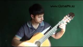 ЦЫГАНОЧКА на Гитаре - ВИДЕО УРОК 7/7. Как играть на гитаре