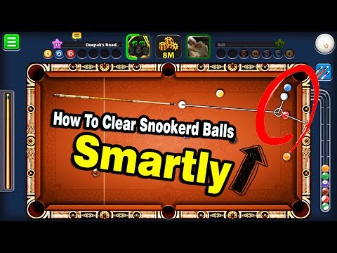 8 Ball Pool How To Pot Snookered Balls Smartly -Deepak's Road Ep 27-