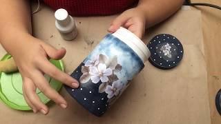 Reciclando Potes Plásticos – Kit Higiene de luxo