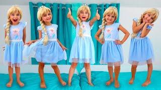 Five Little Monkeys Jumping on the Bed   Finger Family   Song for Kids   From Super Elisa