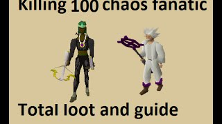 Guide and loot from 100 Chaos Fanatic