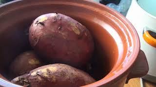큰 고구마 찌기 황토 해남 왕왕 고구마 군고구마 맛있는…