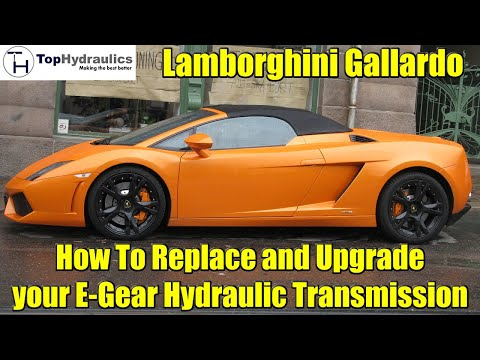 Lamborghini Gallardo E Gear System Removal