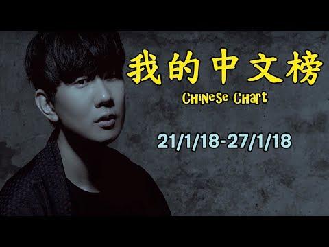 我的中文榜二十大 My Chinese Chart Top 20 Songs (21/1/18-27/1/18)