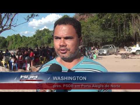 Presidente do PSDB declara apoio a Pedro Taques em Porto Alegre do Norte