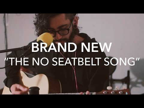 Brand New - The No Seatbelt Song (Acoustic Cover)