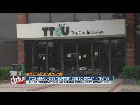 "TTCU Announces ""Support Our Schools"" Initiative"