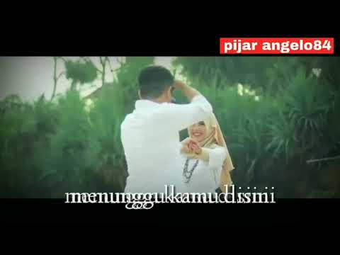 Anji - Menunggu Kamu (cover Eclat)  Lyric Video Cinematic Editing Kinemaster