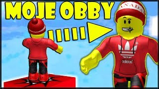 I have my own Roblox Obby from the fan! Play it, too! -Super Obby for RiZiPlaysTV