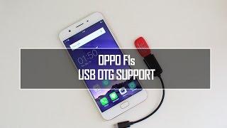 Oppo F1s USB OTG Support