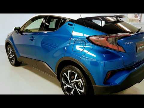 Spectacular in Blue    Toyota CHR HD