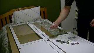 OXBERG door installation on IKEA BILLY bookcase