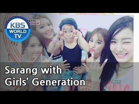Sarang With Girls' Generation(SNSD)[The Return Of Superman   슈퍼맨이 돌아왔다 / Editor's Picks]