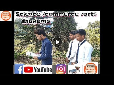 Science/commerce /arts students
