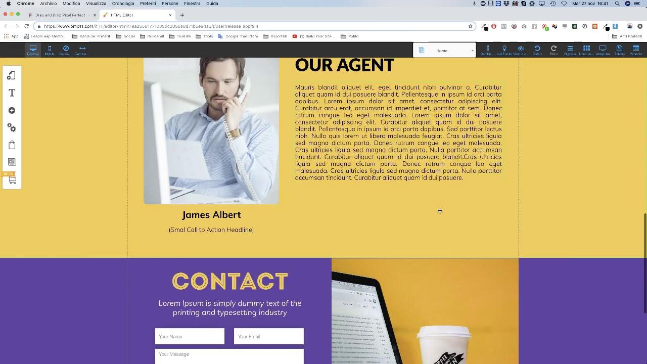 Come creare un sito web in 10 minuto con Builderall