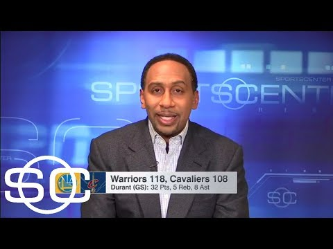 Stephen A. Smith says Cavs need 'major change' in order to beat Warriors | SportsCenter | ESPN